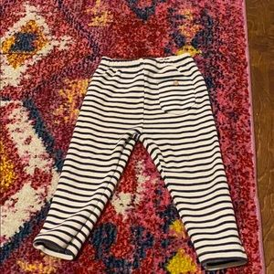 Zara baby girl striped leggings 9-12mo